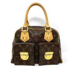 Louis Vuitton Monogram Manhattan PM Hand Bag